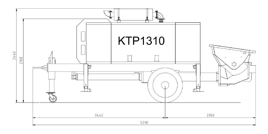 BOMBA ESTACIONARIA KTP-1310-DC