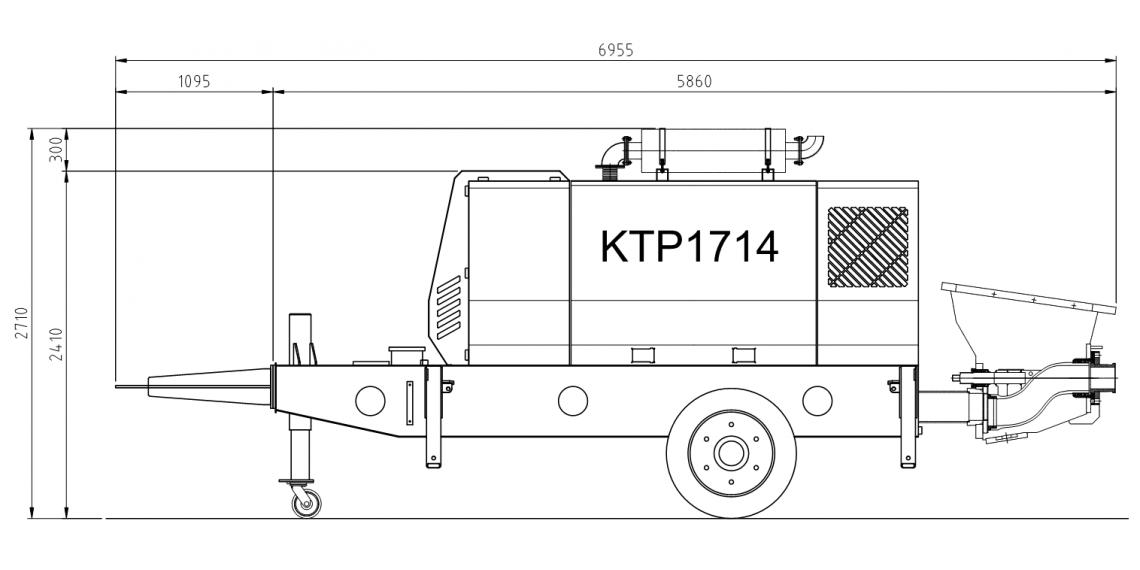 STATIONARY PUMPS KTP-1714-DC