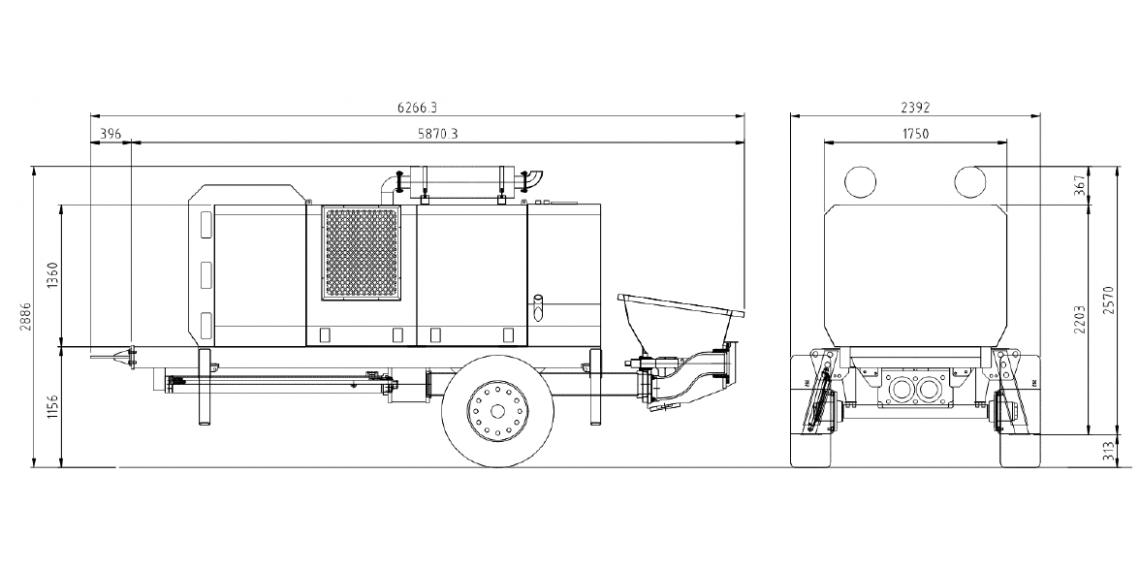 BOMBA ESTACIONARIA KTP-2210-DC