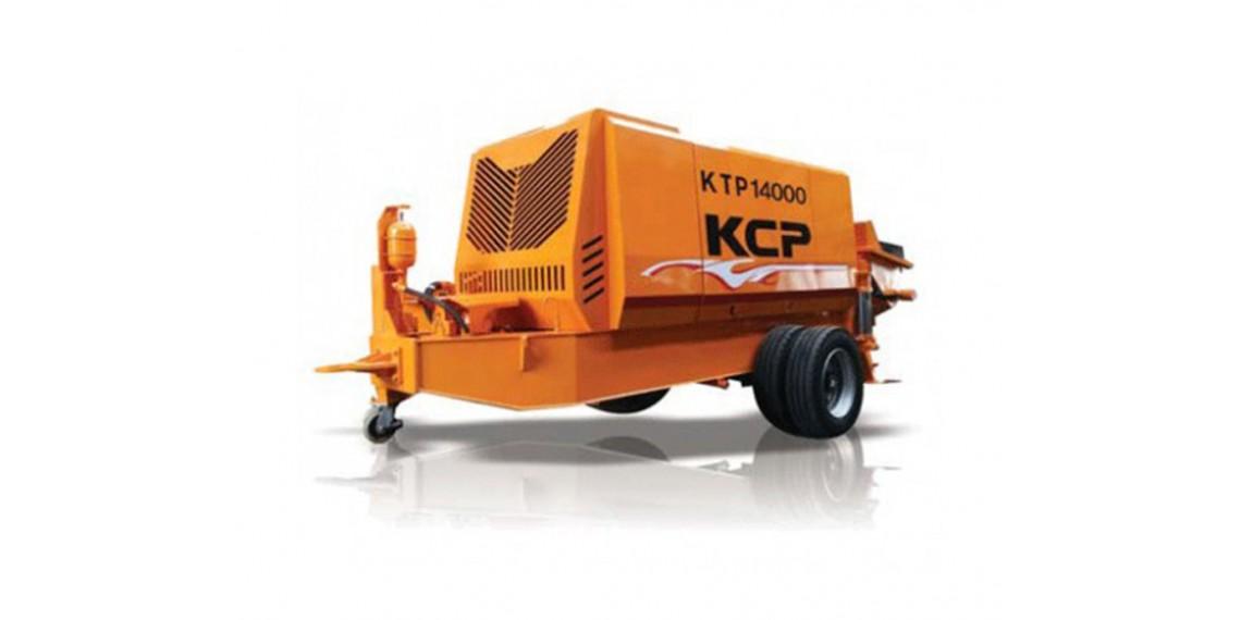 Bomba estacionaria KTP-14000-DC, maquina de construcción bombeo de hormigón, KTP-14000-DC recambios bomba de hormigon
